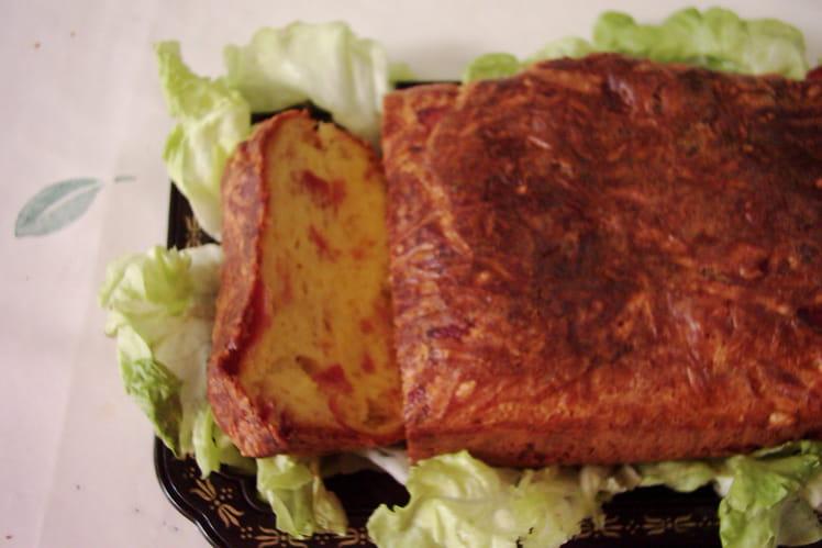 Cake aux 2 jambons