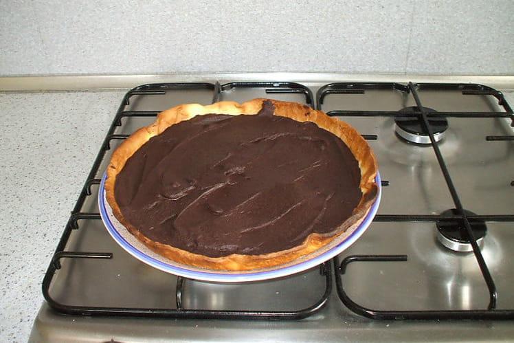 Tarte au chocolat toute simple