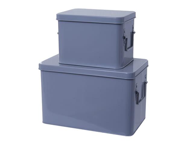 Boîtes métaliques chez Conforama