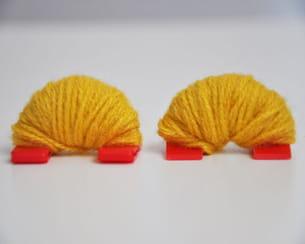 résultat des kits entourés de laine
