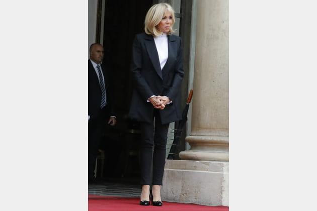 Brigitte Macron le 25septembre 2017