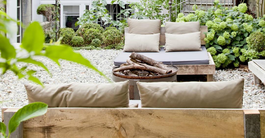 5 id es d co retenir de cette terrasse. Black Bedroom Furniture Sets. Home Design Ideas
