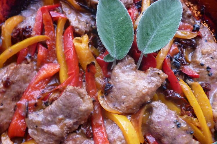 Foie de veau à l'italienne