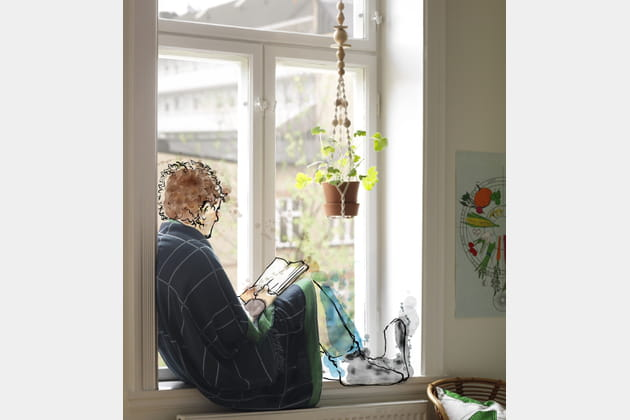 plaid en coton anv ndbar d 39 ikea. Black Bedroom Furniture Sets. Home Design Ideas