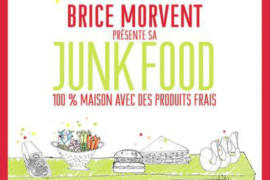 Brice Morvent présente sa Junk Food