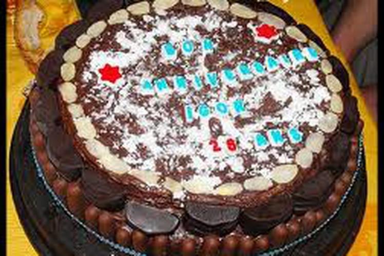 Le super gâteau d'anniversaire