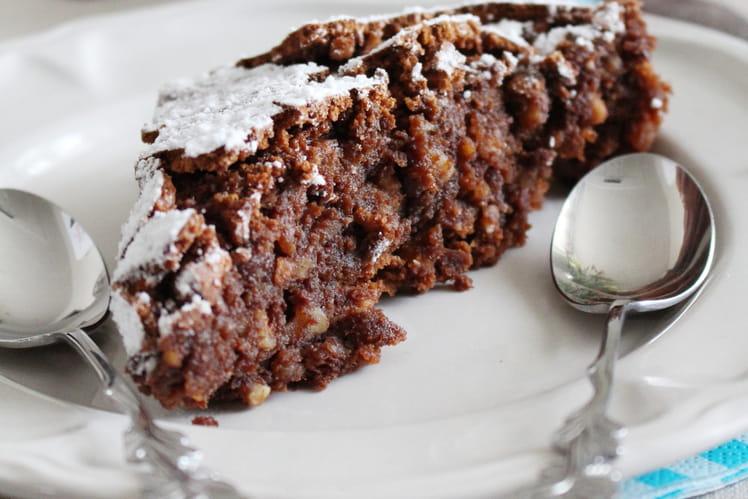 Gâteau chocolat amandes italien Torta Caprese