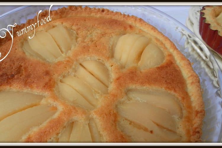 Tarte Bourdaloue toute simple à la pâte brisée