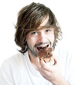 'au goûter c'était petite baguette viennoise avec du chocolat !'