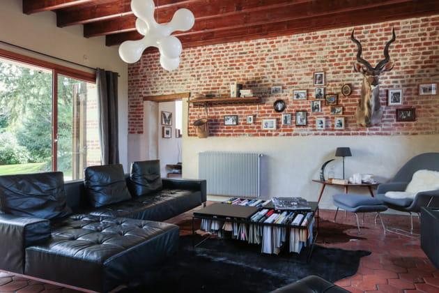 un salon boh me. Black Bedroom Furniture Sets. Home Design Ideas