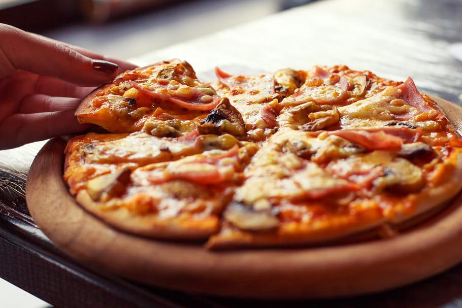 Du métal dans les pizzas: les produits concernés