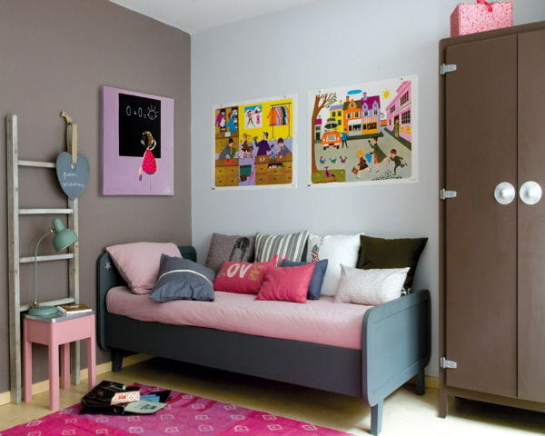 Chambre laurette de file dans ta chambre - Idees de chambres modernes que les ados vont adorer ...