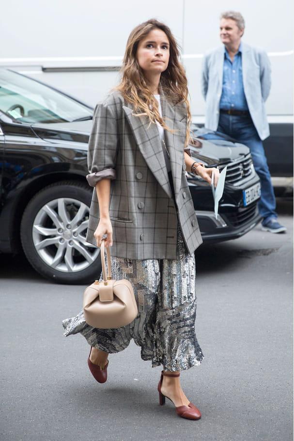 Street style à Paris : la veste d'homme
