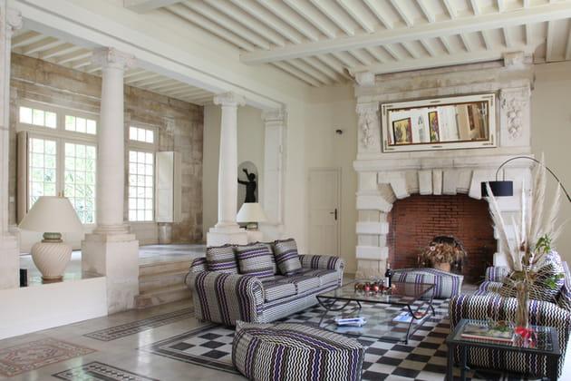 Colonnades au salon