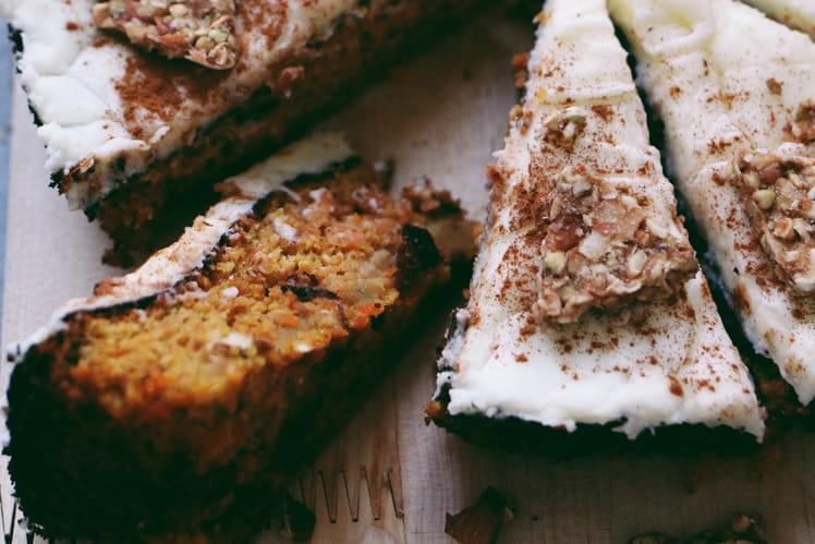 Carrot Cake au sucre muscovado