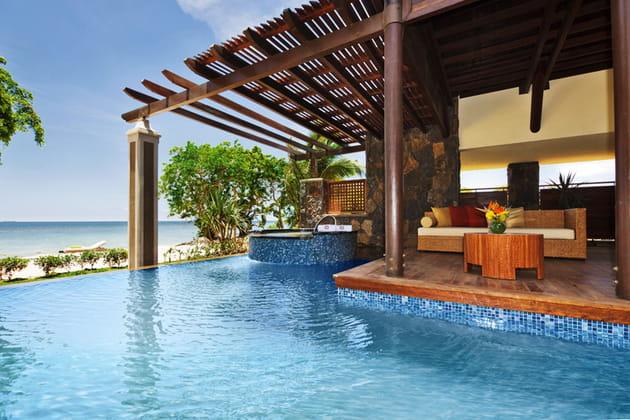 Le luxe et l'intimité d'une piscine privée