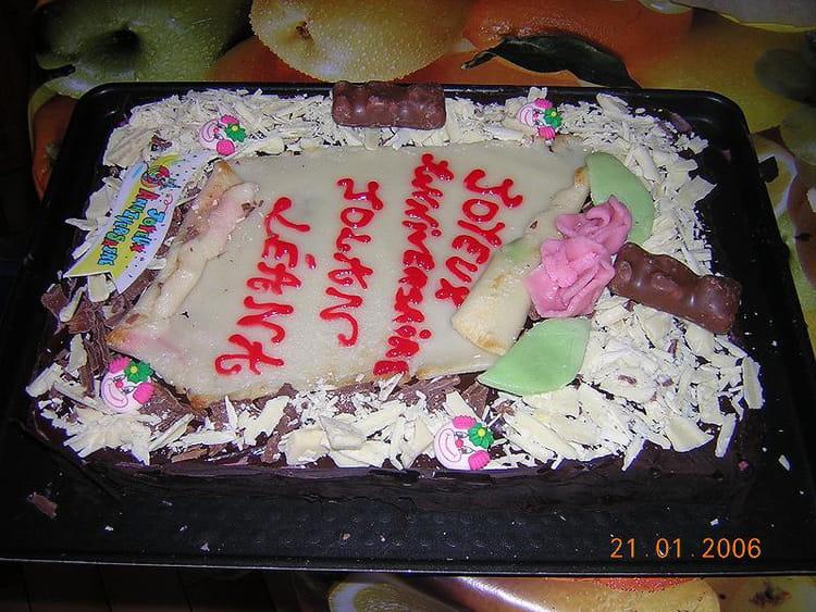Super Gâteau Danniversaire