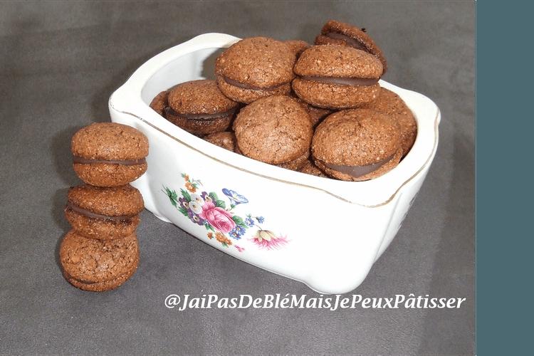 Biscuits italiens noisette-chocolat (Bacci di Alassio)