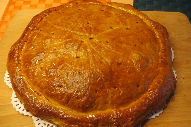 Galette des Rois à la frangipane et crème pâtissière