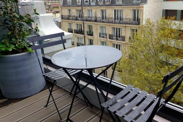 Les balcons et terrasses privatifs
