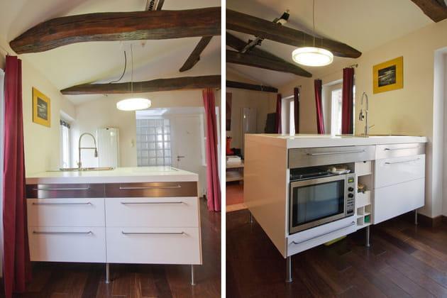 Cuisine ikea en lot gain de place - Ikea cree sa chambre ...
