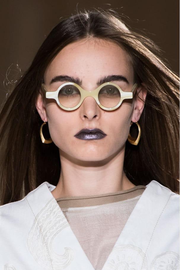 Les lunettes rondes du défilé Acne