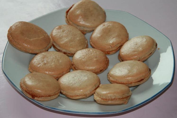Macarons au pain d'épice