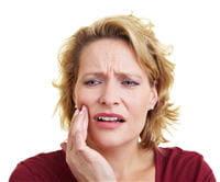 si la dent fait mal c'est que la carie est déjà profonde.