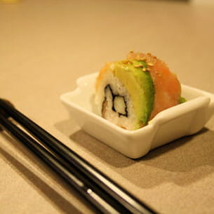 sushi california saumon avocat et pomme grany