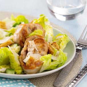salade de râbles façon césar d'annelyse chardon