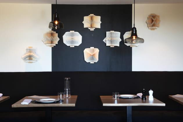 Une salle à manger minérale