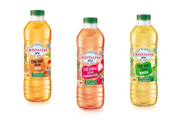 Les infusions au thé de Cristaline