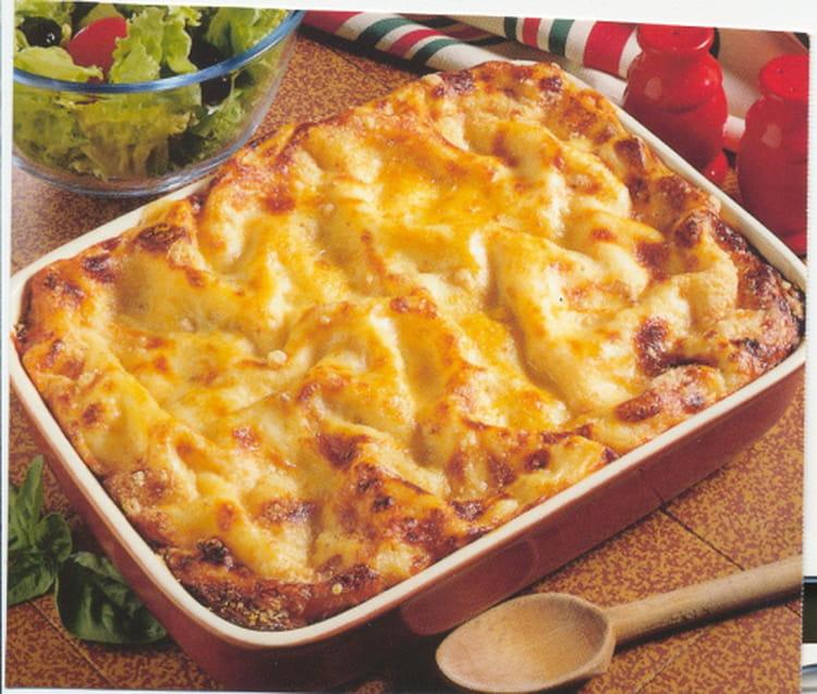 Recette De Lasagnes Au Saumon Et Epinards La Recette Facile