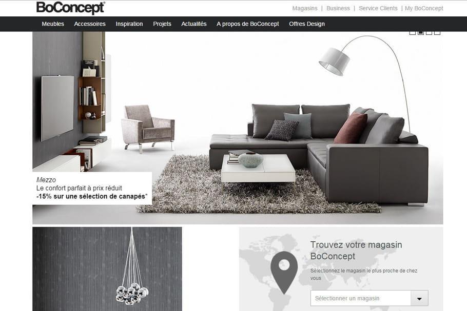 Acheter chez BoConcept : une décoration sur mesure