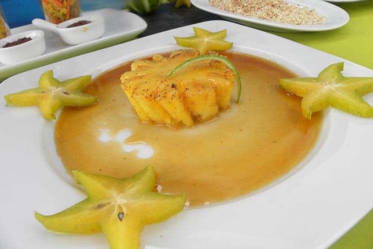 Ananas Victoria rôti