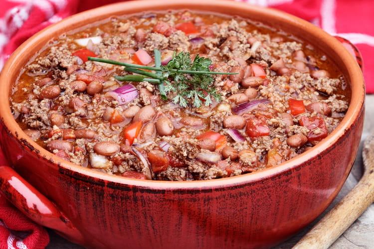 Chili con carne au Tabasco