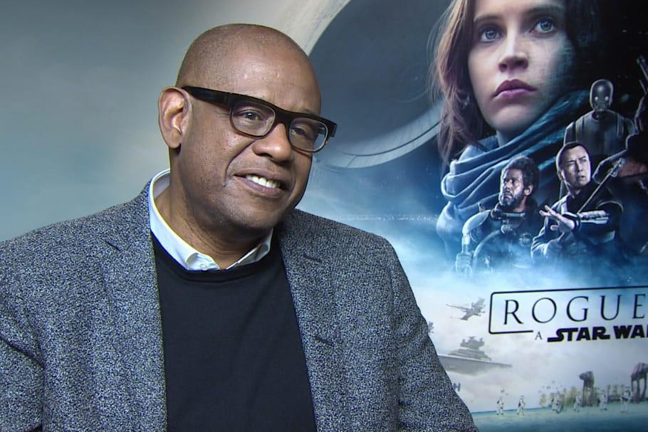 """Interview: Forest Whitaker, Felicity Jones et le casting de """"Rogue One"""" en Force"""