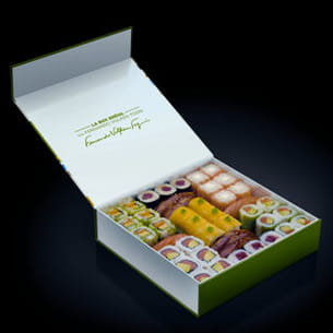 box brésil de sushi shop