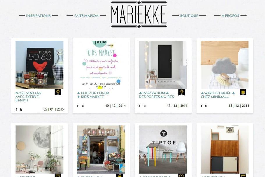 Le blog du moment : Mariekke