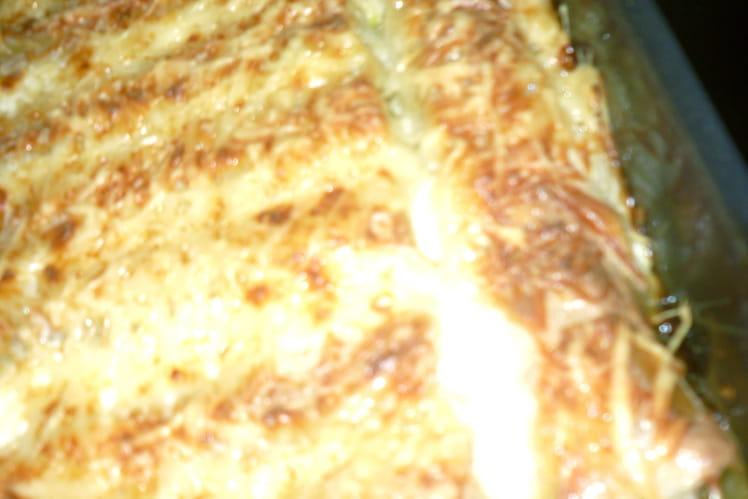 Cannellonis poulet légumes