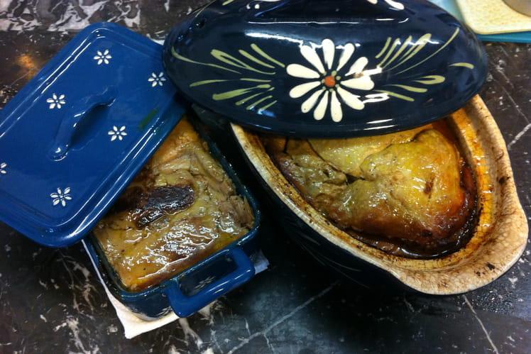 Terrine de foies mi-cuit