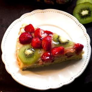 tarte briochée aux fruits
