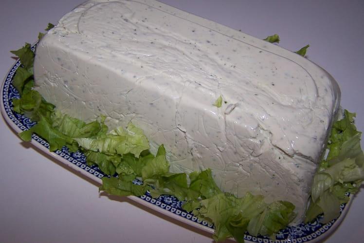 Terrine au fromage frais et gorgonzola
