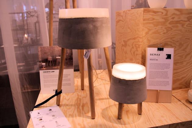Lampes Concrete de Serax
