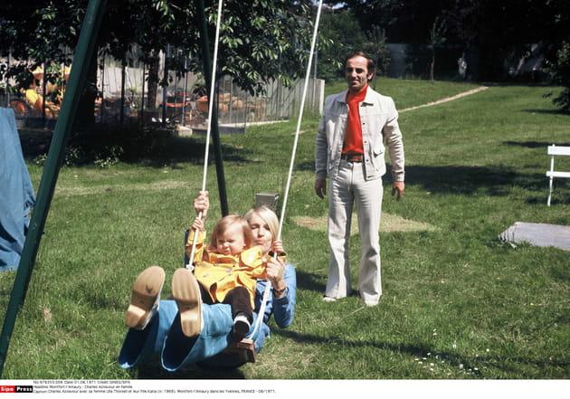Après-midi familiale dans les Yvelines, en 1971