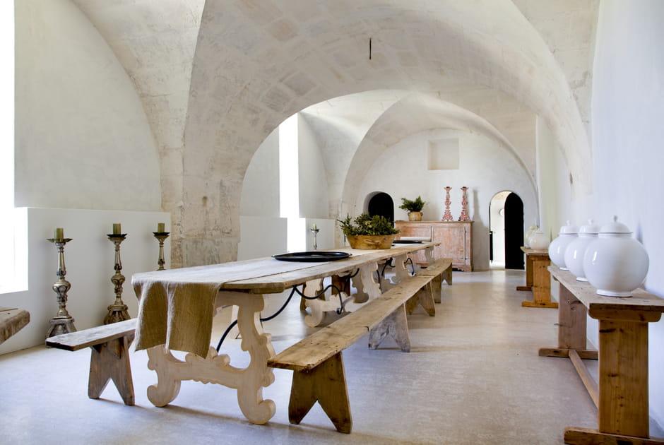 Dans l'ancienne chapelle