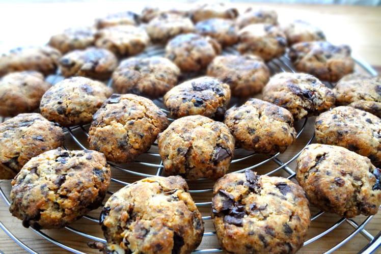 Cookies au café, Coco, pruneaux et pépites de choc