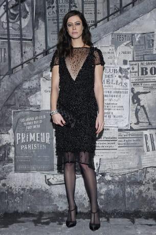 3e6ca57835 Anna Mouglalis au défilé Chanel Métiers d'art 2015/2016 le 1er décembre à  Rome © Aldo Castoldi