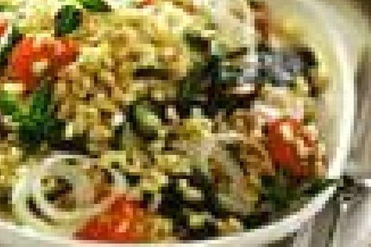 Salade de blé au pistou
