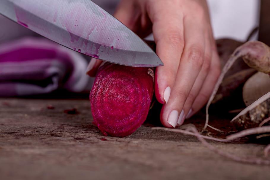 Comment enlever des taches de betterave sur les mains ?